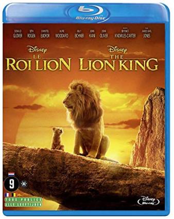 Le Roi Lion version 2019 en blu-ray