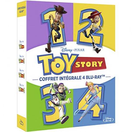 La quadrilogie Toy Story en blu-ray