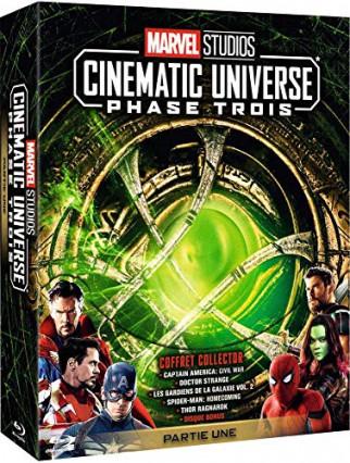 L'intégrale des films de la Phase Trois : Partie Une du Marvel Studios Cinematic Universe