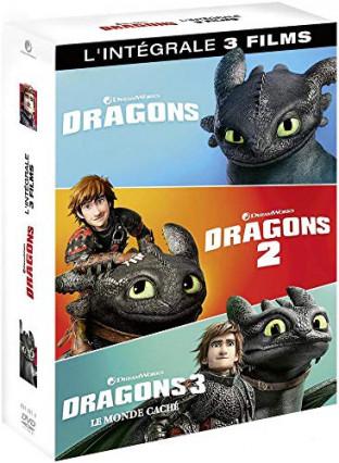 La trilogie Dragons en DVD
