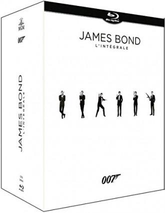 L'intégrale des 24 films James Bond en blu-ray