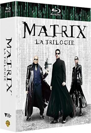 La trilogie Matrix en blu-ray