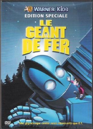 Le DVD du Géant de Fer, de Brad Bird