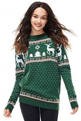 Le pull de Noël coloré
