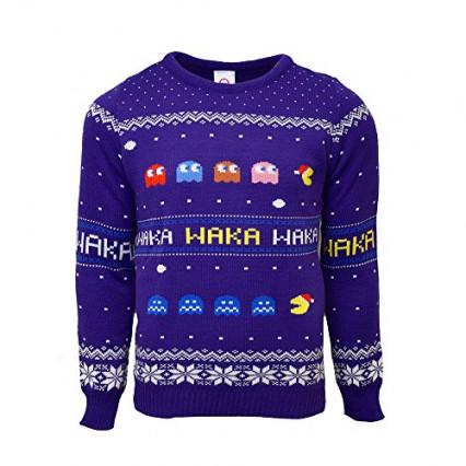 Le pull de Noël Pac Man
