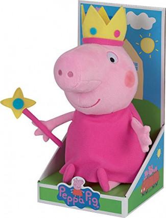 La peluche Peppa Pig déguisée en princesse, de Jemini