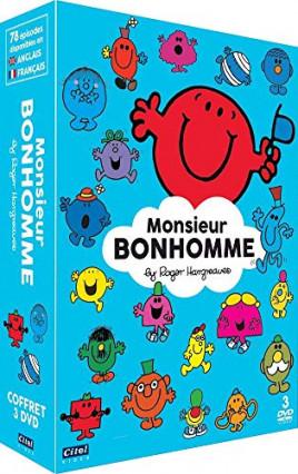 Le coffret DVD de Monsieur Bonhomme