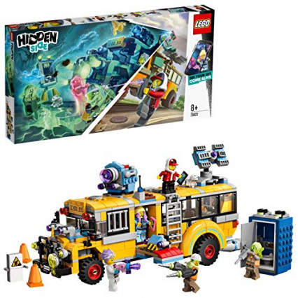 Le kit LEGO Hidden Side : le bus scolaire paranormal