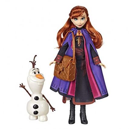 La poupée Anna de La Reine des Neiges 2 avec Olaf