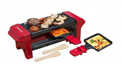 L'appareil à raclette duo multifonction Bestron, pour manger à deux