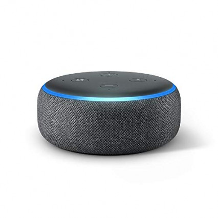 L'enceinte connectée Echo Dot d'Amazon, l'assistant virtuel à tout moment