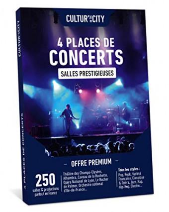 Des places de concerts