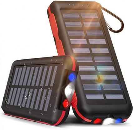 La batterie externe / chargeur solaire CXL, pour le copain nomade