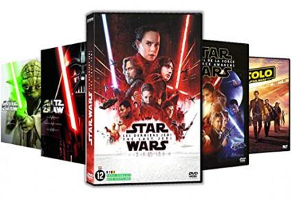 L'intégrale de Star Wars en DVD, la saga et les spin-off