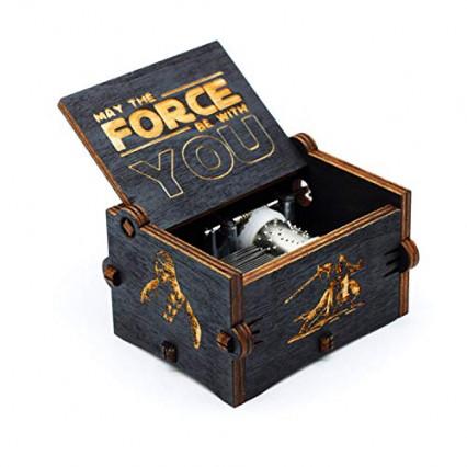 La boîte à musique Star Wars qui joue le thème de la saga