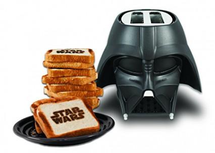 Le grille-pain Dark Vador, pour des toast aux côtés obscurs