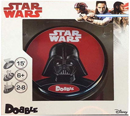 Le jeu de société Dobble version Star Wars d'Asmodée