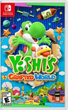 Yoshi's Crafted World, la plateforme pour les plus jeunes