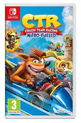 CTR : Crash Team Racing Nitro-Fueled, la course de Crash Bandicoot