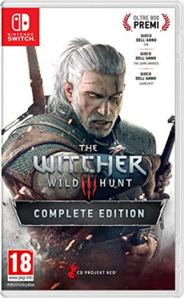 The Witcher 3 : Wild Hunt - Complete Edition, le sorceleur sur Switch