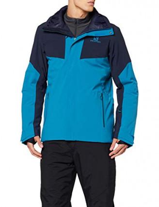 Veste de ski avec capuche pour homme Salomon ICEROCKET JKT M