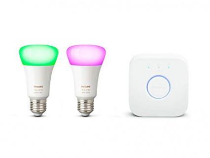 Les ampoules connectées Philips Hue