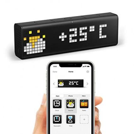 Une horloge wifi aux multiples fonctions