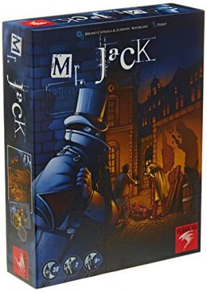 Le jeu de société Mr Jack, pour jouer au chat et à la souris avec son frère