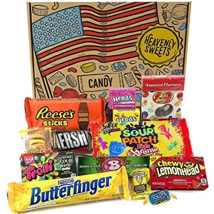 Le panier façon bonbons américains