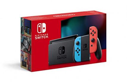 Une console de jeux Nintendo