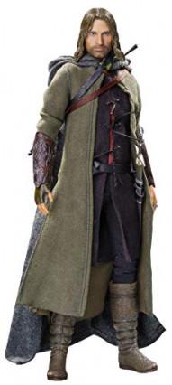 Une figurine d'Aragorn, le personnage incarné par Viggo Mortensen