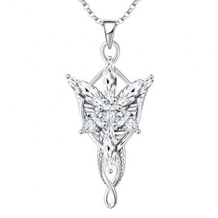Le pendentif Étoile du Soir d'Arwen, l'elfe amoureuse d'Aragorn