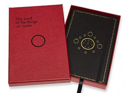 Un carnet Moleskine édition limitée Le Seigneur des Anneaux
