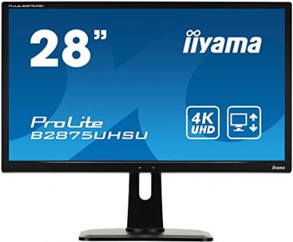 L'écran PC LED 4K Iiyama B2875UHSU-B1