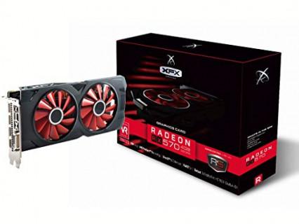 La carte graphique AMD Radeon RX 570 4 Go par XFX
