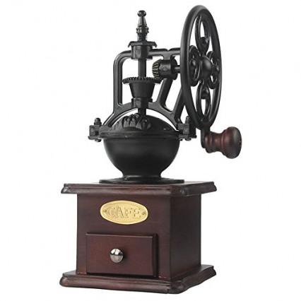Le moulin à café rétro