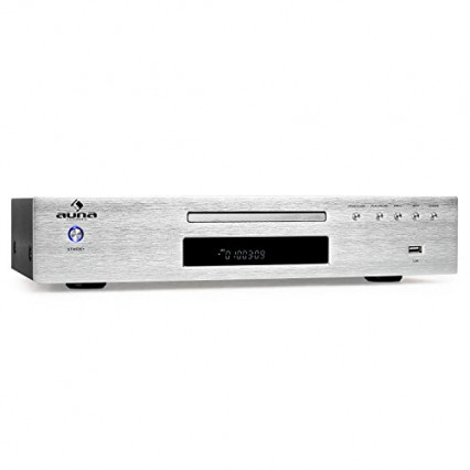 Le lecteur CD de salon avec récepteur radio AUNA AV2-CD509