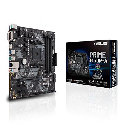 Une carte mère entrée de gamme performante, l'Asus Prime B450M-A
