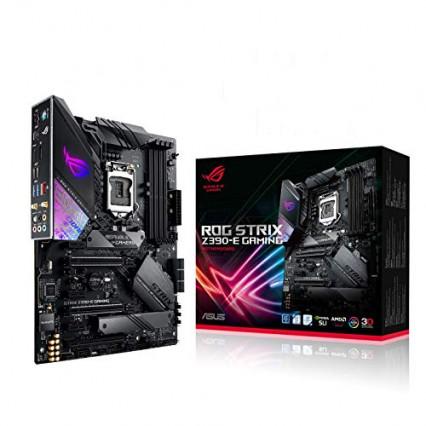 La carte mère haut de gamme gaming ASUS ROG STRIX Z390-E GAMING