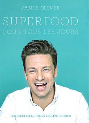 Le livre du chef anglais Jamie Oliver