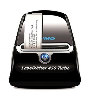 L'imprimante d'étiquettes DYMO 44209 Label Writer 450 Turbo