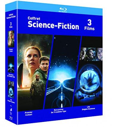 Un coffret Blu-Ray : 3 films de Science fiction