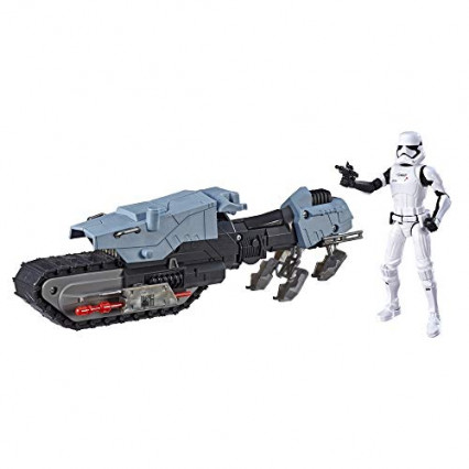 Figurines Star wars : Stormtrooper et son véhicule