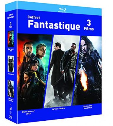 Le coffret de Blu-ray : 3 films fantastiques