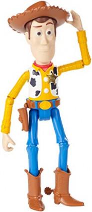La figurine de Woody de Toy Story