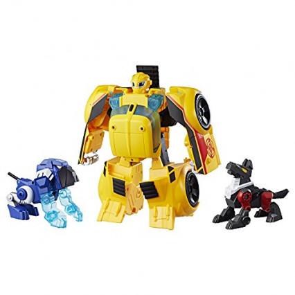 Le robot Bumblebee avec effets sonores et lumineux