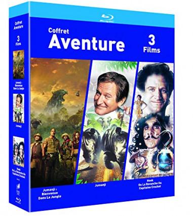 Le coffret Blu-Ray : 3 films d'aventure