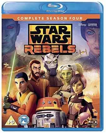 Le blu-Ray de Star Wars rebels