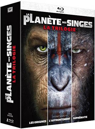 Le coffret de la trilogie : La Planète des singes