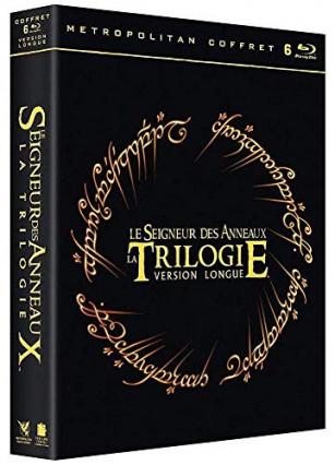 Le coffret de la trilogie Le Seigneur des Anneaux - version longue